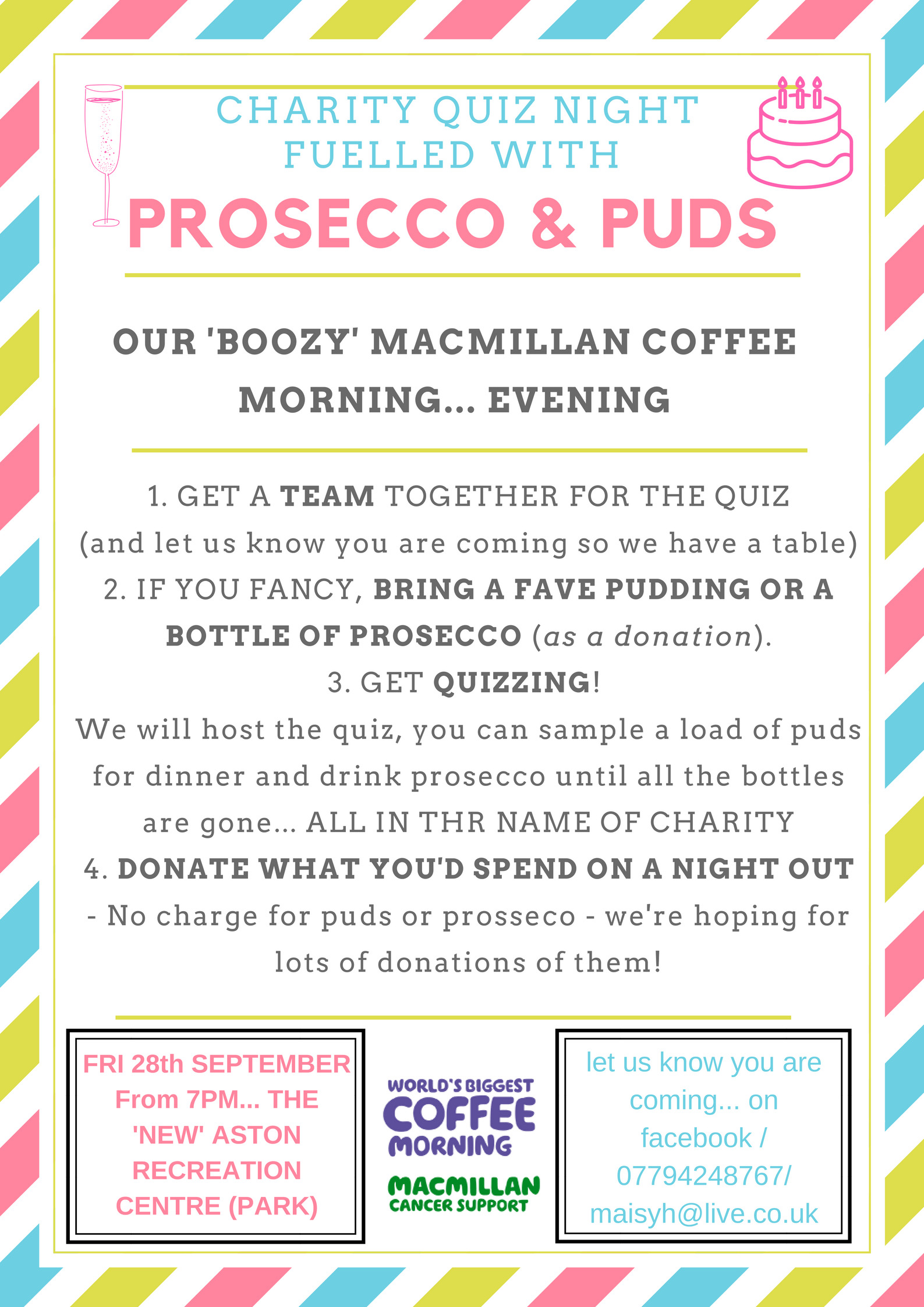 Macmillan Coffee Quiz Night